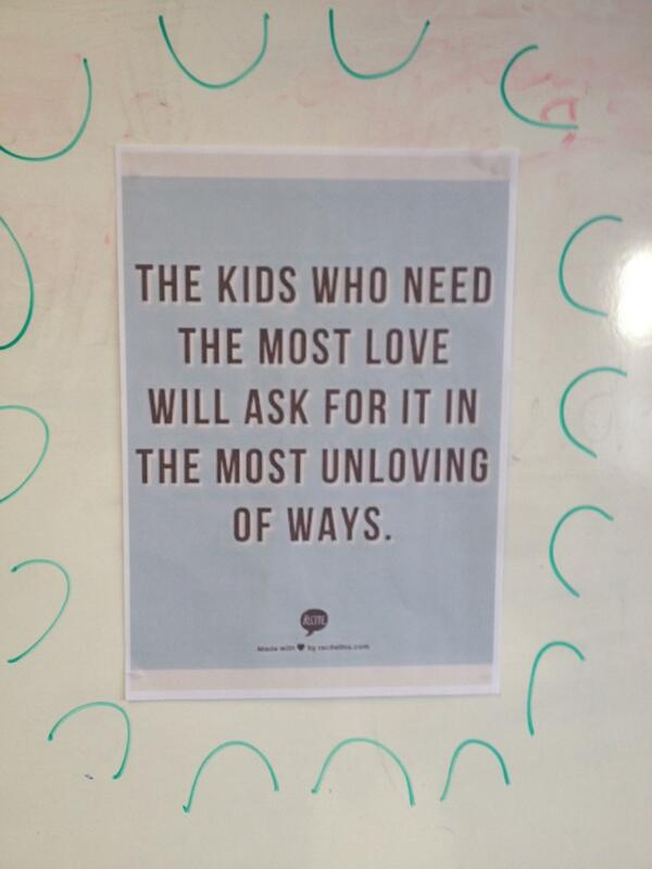 Just pinned this to staff notice board-a lesson for us all. http://t.co/gAmk0oynrw
