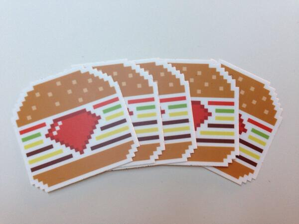 Rubyburgers stickers