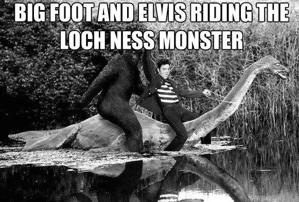 Loch ness vs bigfoot