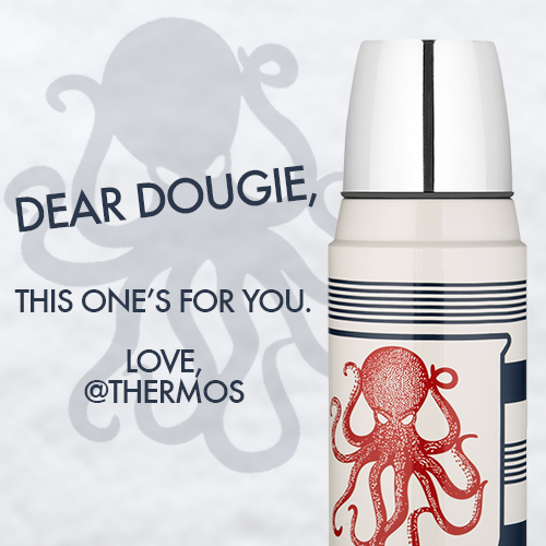 Hey @dougiemcfly, @elliegoulding thought you might like this @himynameismark bottle designed by @markhoppus: http://t.co/ehXQeAs4qq