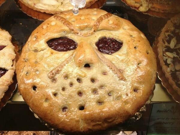 In honor of #PiDay JASON VOORHEES Pie http://t.co/jiloAi7dvk