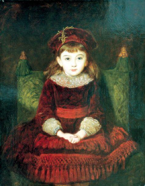 「白昼夢」制作年不明ジョン・エヴァレット・ミレイJohn Everett Millais, Daydreams