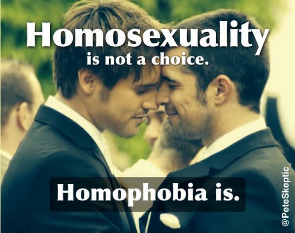Homosexuality is a choice facts