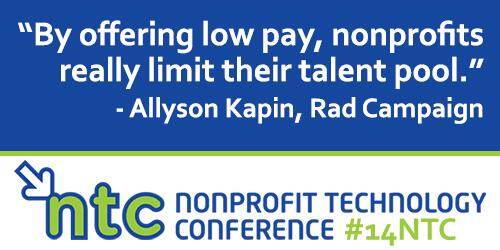 Important (and true) advice for executive staff and board via Allyson Kapin at @RadCampaign at #14NTC: http://t.co/EDmNWvl1ID