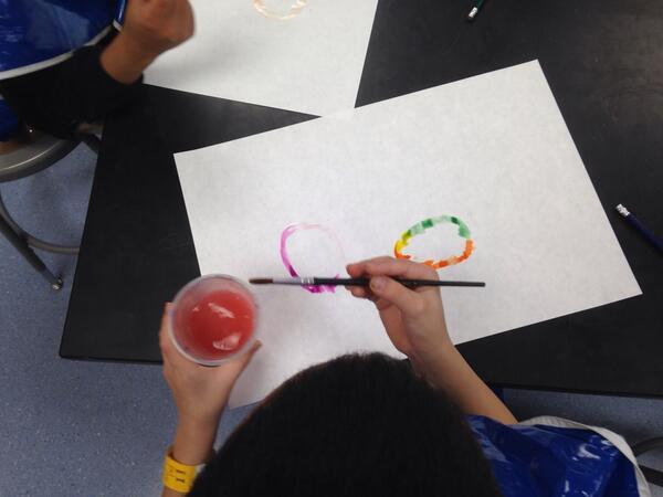 Making enso's-Kindergarten students skillful w the brush #piday#ITDML#walkmyworld http://t.co/7ki1xuGw6M