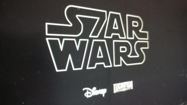 Is this the logo for Star Wars Episode VII? BitB7gUCUAA4EVH