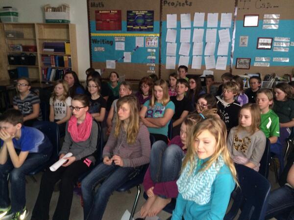 #globalencounters our Saskatchewan audience today http://t.co/JTPbGWSLQu