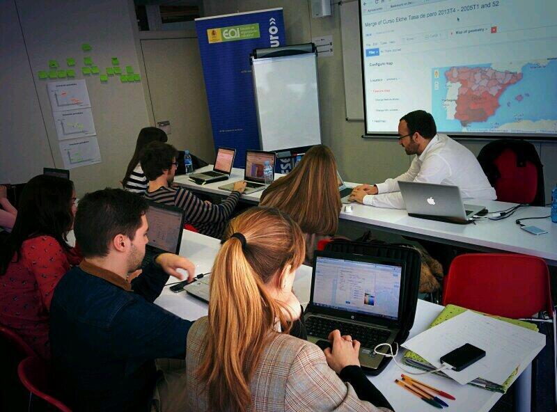 Imagen: En el taller de Nuevas Narrativas.org