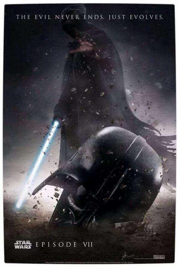 Awesome Fan Made Poster for #StarWars Episode VII http://t.co/qEJUEzjt3E http://t.co/g5cNaL03JX