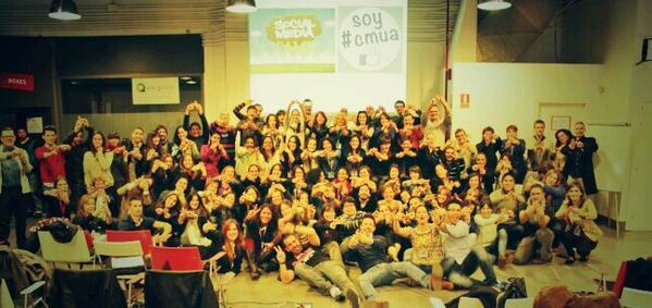 Exclusiva! @cmua y @SocialMeCamp juntos en @ajemadrid por la formación Social Media ;) #TropaCmua #TropaCamp http://t.co/IaM6k72gnP