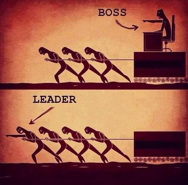 Are you a #Leader, or a boss? http://t.co/q8TwSB6xV4