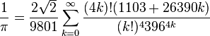The fastest and most incomprehensible formula for pi from Ramanujan
