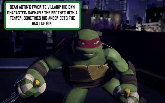 Tmnt Pa Twitter Fun Fact 7 Favorite Villain Sean Astin S