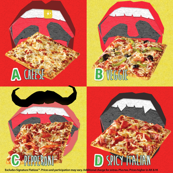 subway on twitter which 2 for 5 flatizza combo would you choose