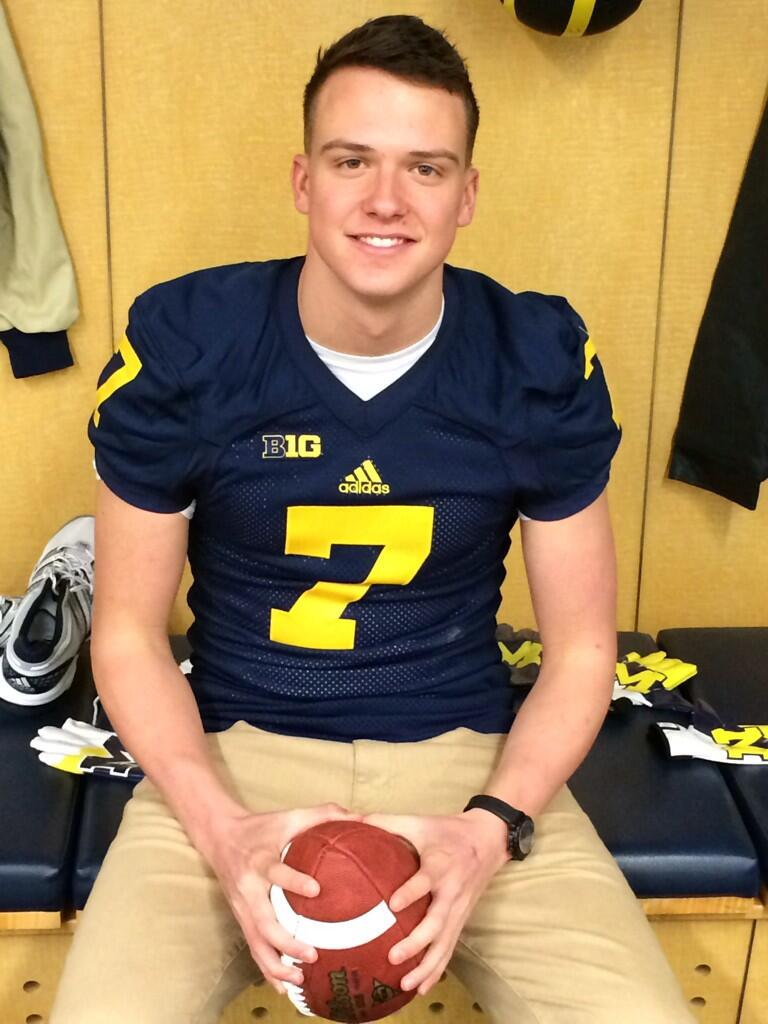 huge discount 3c52e d2fb4 BBrown: David Sills In The Maize and Blue | mgoblog