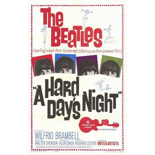 Beatles' 'A Hard Day's Night' film to be re-released in theaters and on DVD http://t.co/ai5HjjwFNf #beatles http://t.co/U0ttjfWmAb