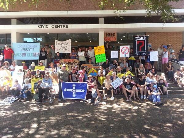 #Marchinmarch #Grafton :) #Auspol http://t.co/GCK6kO53ca