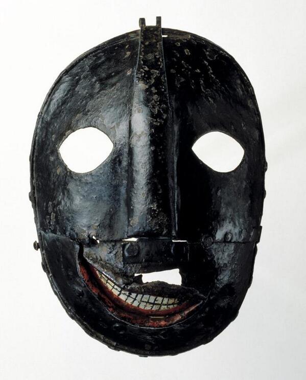 18世紀頃のヨーロッパで死刑執行人が被った仮面