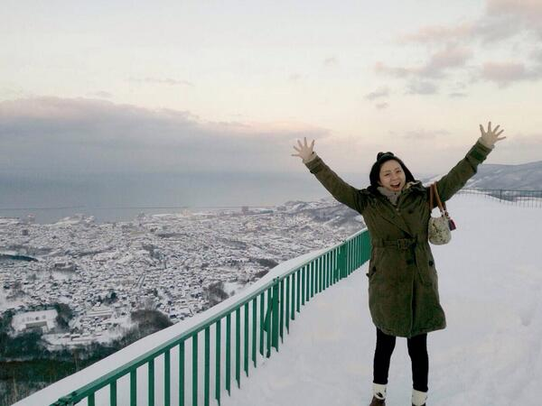 小樽ー!!!天狗山ー!!! http://t.co/Za7mwx0xd3