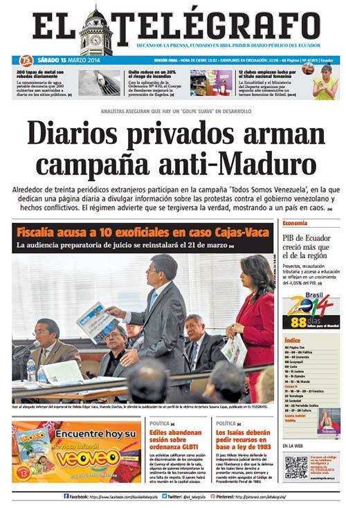 Noticias ecuador hoy