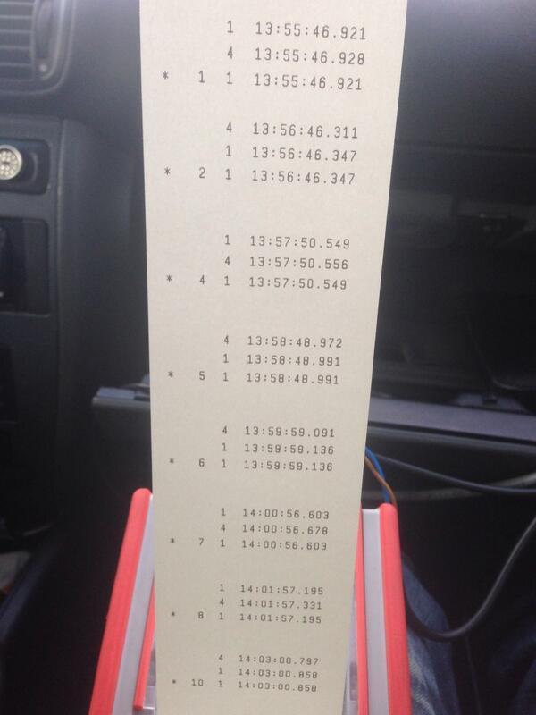 Tijden kp9 #lindedijk #tanksrally aldaar Rallytiming het even niet doet :) http://t.co/CKW7njaVW6