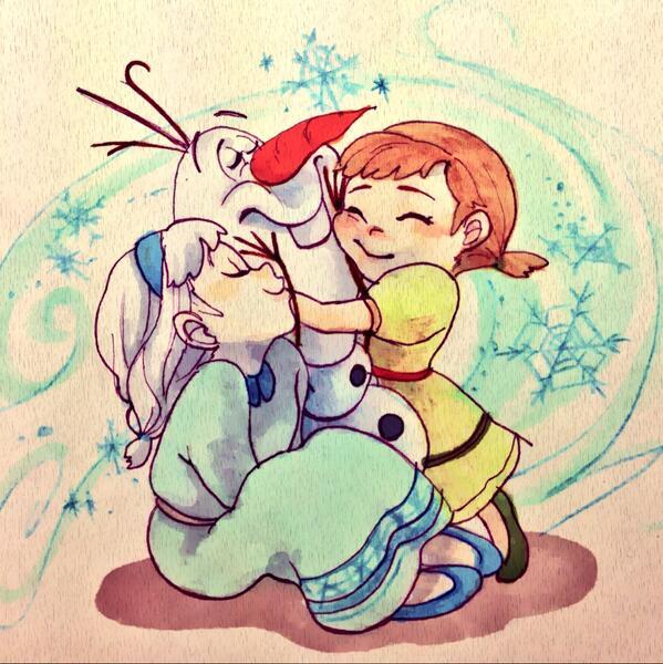 Tweet アナと雪の女王オラフがゆる可愛い画像壁紙セリフ