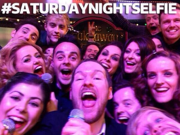 #SaturdayNightTakeaway Selfie