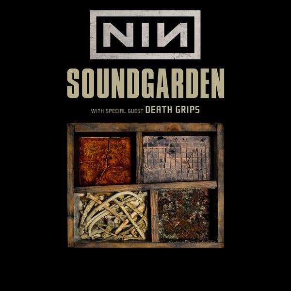 Soundgarden and Nine Inch Nails have announced they will be touring together this summer. Pre-sale begins tuesday. http://t.co/TksEuDDLmZ
