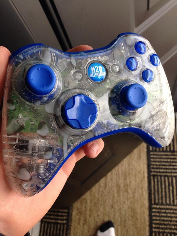 "Custom Controllerzz on Twitter: ""I love @H2ODelirious ... H20 Delirious Controller"