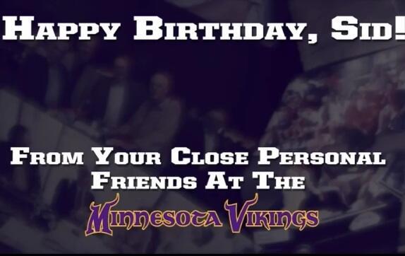 Minnesota Vikings On Twitter Happy 94th Birthday SidHartman