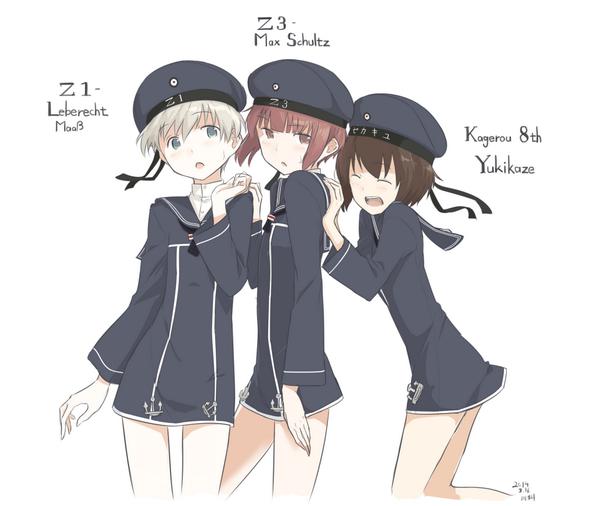 ドイツの駆逐艦娘たち   とオマケ