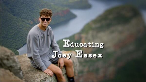 NEW  -  Educating Joey Essex      Sunday at 9pm on @itv2 #educatingjoey http://t.co/m8u9S7RytM