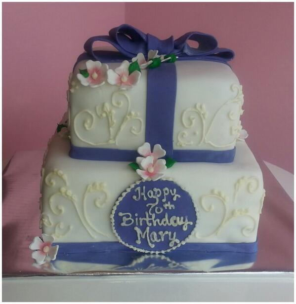 CakedUpCafe on Twitter Happy 70th Birthday Mary cakes birthdays