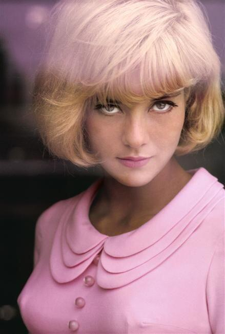 High Voltage Dolls On Twitter Vintage Pic Of The Day Sylvie Vartan Pink Pastel Fbloggers Fashion Style Blog Spring Http T Co Pndxbjsdi1
