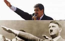 Los gestos con la mano/puño al aire de #Maduro + su gobierno, es lo único verdaderamente #Fascista en el mundo hoy. http://t.co/XrLM9LpXWr