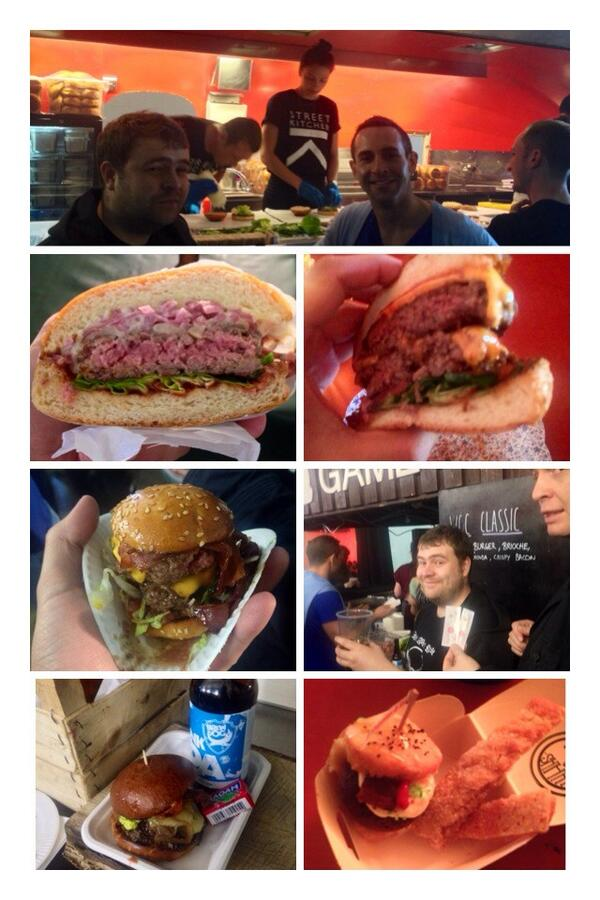 Tasty burgers @twntysmthngLDN but @MotherFlipperuk was the easy winner! #BurgerFest2014 http://t.co/iKRdmGVlqE