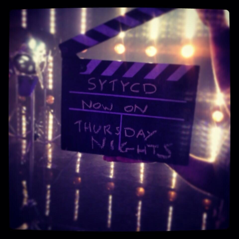 RT @SYTYCDAU: All the lights, camera and action continues this THURSDAY 7.30! You can't miss it! #sytycdau http://t.co/POfoD32BtA