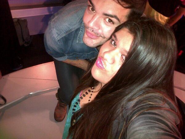 Con la diosa de @Morerial !! La prox champagne mas grande ajajajaj besotes More!!! Hablamos! http://t.co/e6yM8DAFeh