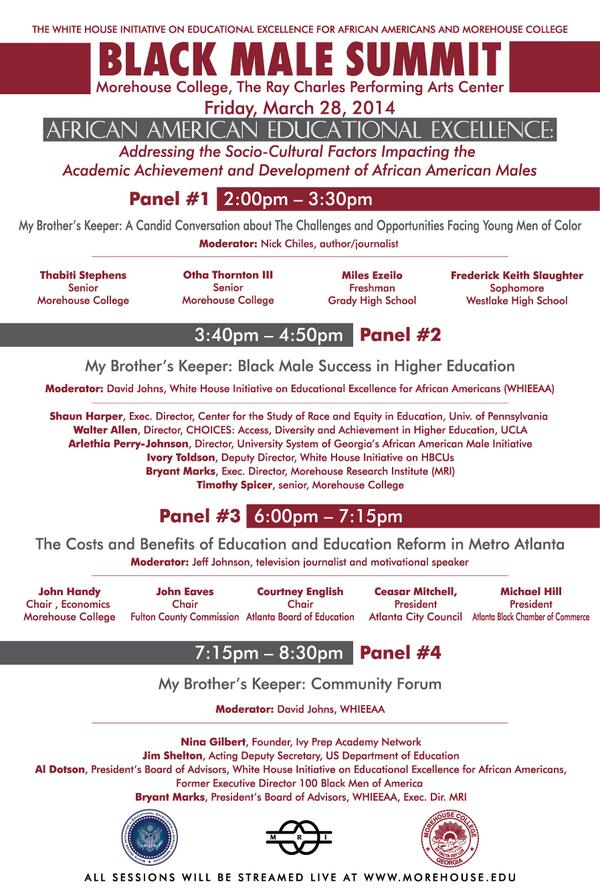 Interested in the schedule for tonight's #AfAmEdSummit events? Read more here --> http://t.co/zV6BaXDMKh