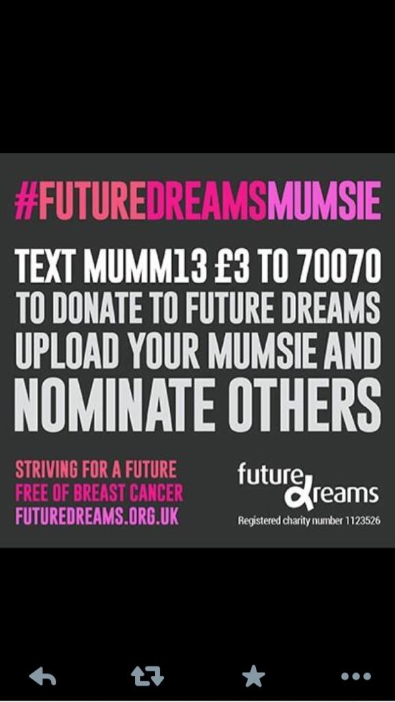 RT @RubyJEvents: @NolanColeen pls retweet for us & support us for our Mother's Day campaign? #FutureDreamsMumsie http://t.co/1NetSy9aBi