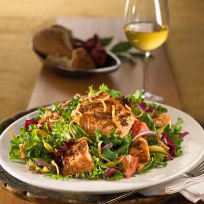 Maggiano S Little Italy On Twitter Who S Craving A Grilled Salmon Salad We Are Http T Co Bpkj1dmaeh