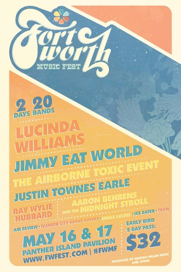 Last Chance! RT & WIN: Lucinda Williams @JimmyEatWorld @Airborne_Toxic @JustinTEarle @RayWylie @AaronBehrens & more! http://t.co/nBBI3311Qx