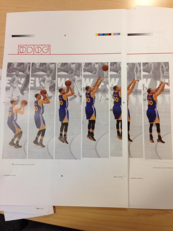 A sequence of the perfect shot of @stephencurry30 in our next issue of @ESPNMag http://t.co/H9pRHcGvJC