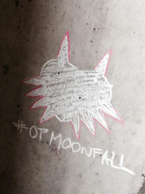Grafite da Operation Moonfall