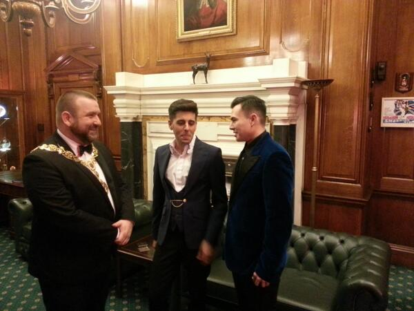Meet Sinclair and Sean at Camden Town Hall – they could be the country's first ever gay married couple #equalmarriage http://t.co/aFENSrvW8q