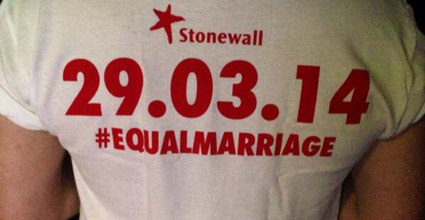Equal, at last. #EqualMarriage http://t.co/IAJSmLlga5