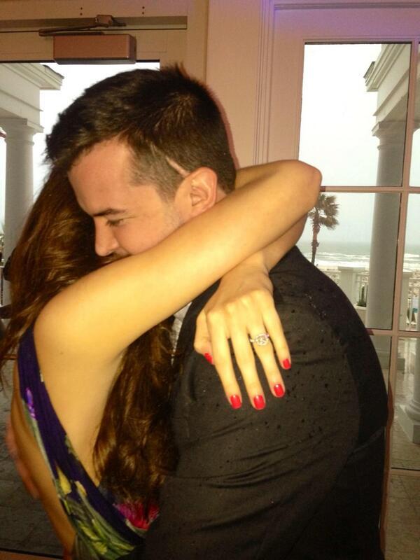 Katherine Webb and AJ McCarron are engaged