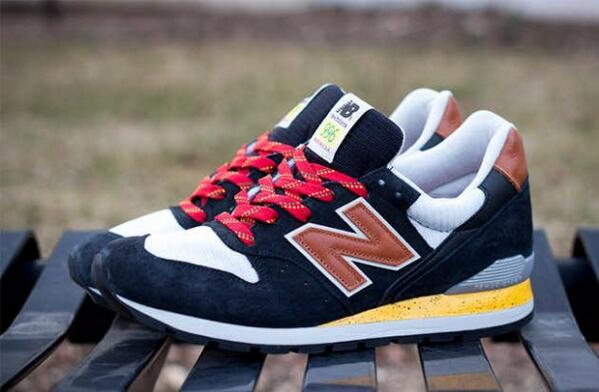 "The New Balance Made in USA 996 ""Black/Yellow/Tan""  http://t.co/Wb5NEVPk9u http://t.co/utjMOfQqXs"