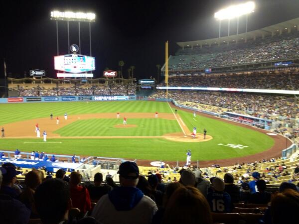 """@Variety_DMcNary: No play stoppage at Dodger Stadium despite 5.3 quake http://t.co/8zZ7hO4Pn0"" @RealFrank13"