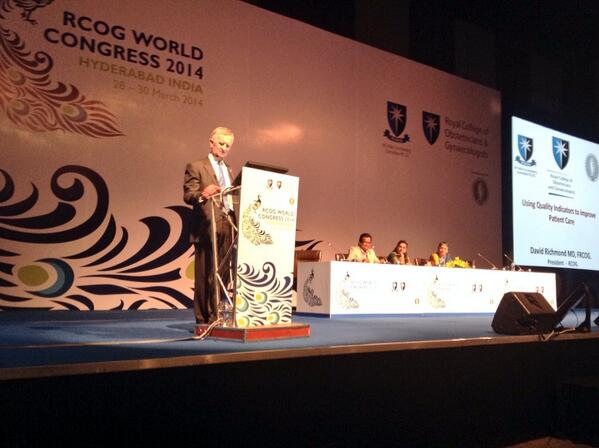 RCOG President, David Richmond, says it's important to use quality indicators to improve patient care at #rcog2014 http://t.co/eRi7I4e0Ol